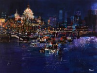 Mike Bernard St Paul's and the City at Night