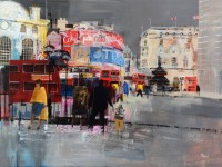 Mike Bernard Piccadilly Circus, Winter