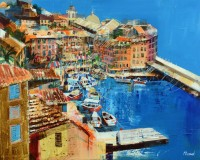 Mike Bernard Camogli, Italian Riviera