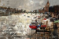 Mike Bernard Winter Light, the Thames