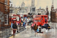 Mike Bernard Morning Rush Hour, Trafalgar Square