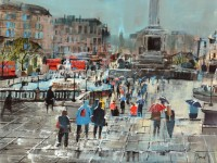 Mike Bernard Rain Showers, Trafalgar Square