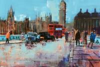 Mike Bernard Westminster Bridge, Blue Skies