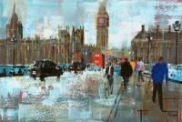 Mike Bernard Morning Traffic, Westminster Bridge