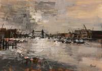Winter Light, The Thames Mike Bernard