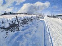 Charles Simpson Snowy Road
