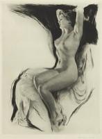 Middle European school c.1930 Nude