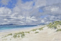 Charles Simpson West Beach, Berneray