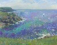 Luke Martineau White sail Green Sea
