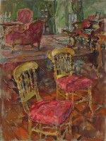 Susan Ryder Gilt Chairs