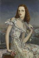 Karin van Leyden (1906-1977) Portrait of a New York Debutante