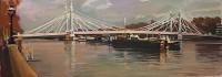 Luke Martineau Albert Bridge, High Tide