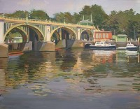 Luke Martineau Sunny Morning, Richmond Lock