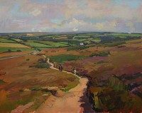 Luke Martineau The Track Over the Moor
