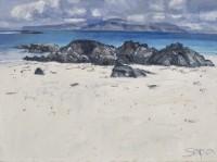 Charles Simpson Rocks, Beach and Mull