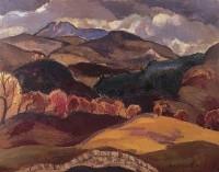William MacTaggart (1903-1981) PPRSA RSW Towards Rannoch