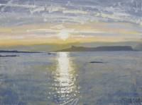 Charles Simpson Sunset Sea