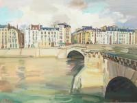 Luke Martineau Ile St Louis And Pont De La Tournelle