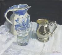 Luke Martineau Silver Tankard and Water Glass