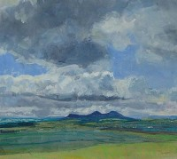Charles Simpson Clouds and Eildons