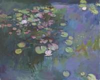 Luke Martineau Water Lilies V