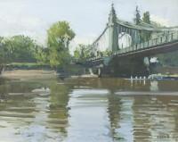 Luke Martineau Hammersmith Bridge from the Foreshore
