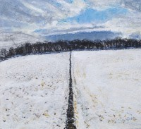 Charles Simpson Two Fields, Winter