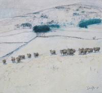 Charles Simpson Winter Sheep