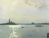 Luke Martineau Venice From The Arsenale