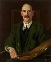 James W. Ferguson Portrait of S.J.Peploe