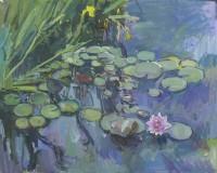 Luke Martineau Water Lilies VI