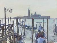 Luke Martineau San Giorgio From The Molo, Morning