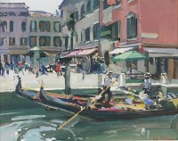 Luke Martineau Campo San Barnaba Dorsoduro Venice