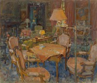 Susan Ryder The Card Table, L'Eveche