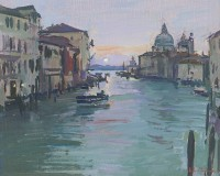 Luke Martineau Grand Canal, Sunrise II