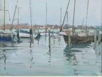 Luke Martineau Boats At Dusk, San Giorgio