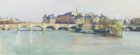 Luke Martineau The Pont Neuf From The Pont des Arts