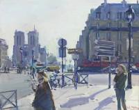 Luke Martineau Place Saint Michel, Morning Rush Hour