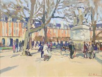Luke Martineau An Afternoon In Place Des Vosges
