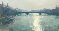 Luke Martineau The Seine From The Pont Royal