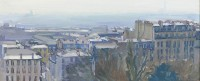 Luke Martineau Rooftop Panorama From Montmartre