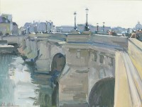Luke Martineau On the Pont Neuf