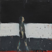 Audrey Grant Figure Walking II