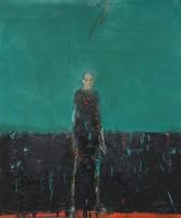 Audrey Grant Man Standing (Blue Green)