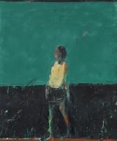 Audrey Grant Woman Standing (Blue Green)