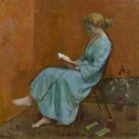 Alberto Morrocco Girl Reading