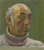 Alberto Morrocco Self Portrait 1978
