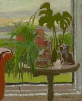 Alberto Morrocco Table at the Window 1972