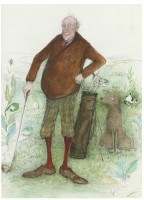 The Old Fashioned Golfer Sue Macartney Snape
