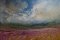 Oona Campbell Across the Heather towards Brown Knots (North Yorkshire)